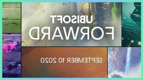 The Ubisoft Forwards event flyer announcing the event, where they announced new games that are being released and presented trailers games on Sept. 10.